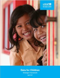 Data for Children Strategic Framework UNICEF
