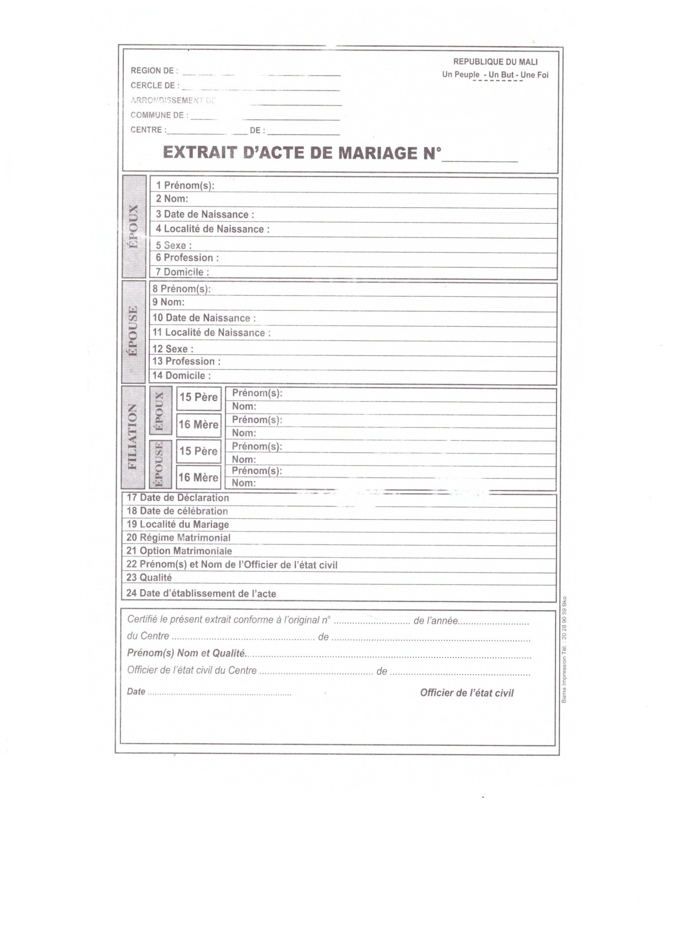 Mali unicef data download sample birth certificate yelopaper