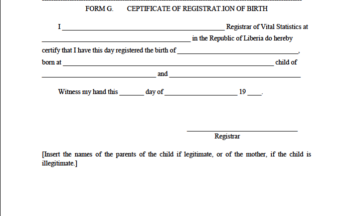 government issued birth certificate how to get