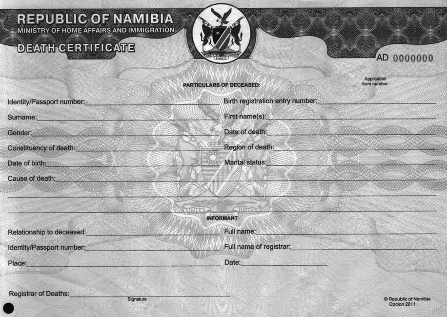 Namibia unicef data download sample death certificate yadclub