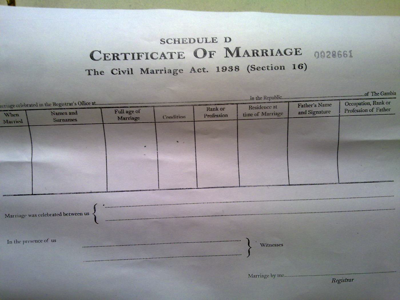 Gambia unicef data download sample marriage certificate yadclub Image collections